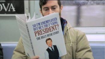Fake Books on Subway: Donald Trump Edition