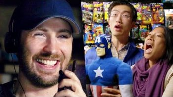 Chris Evans Pranks Comic Fans With Surprise Escape Room