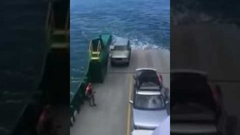Don't Forget To Tow Your Car On A Cruiseship