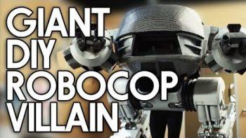 Epic DIY Robocop ED-209 Costume