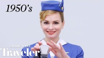 100 Years Of Flight Attendant Uniforms