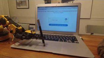 Robot Beats 'I Am Not A Robot' Captcha