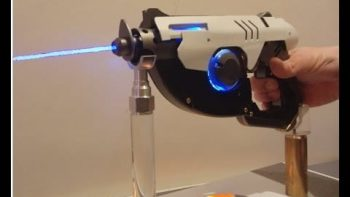 Man Builds Fully Functional Overwatch Pulse Pistol