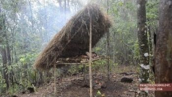 Primitive Technology: Making A Bed Shed