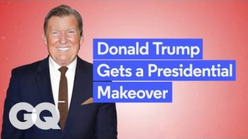 Donald Trump Gets A GQ Makeover