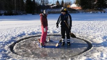 World's Fastest Ice Carousel