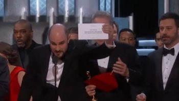 Oscars: Moonlight Wins Best Picture After La La Land Mistakenly Announced