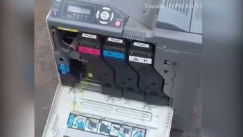 Setting Up Fireworks Inside Of A Printer