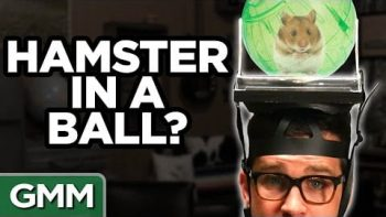Rhett And Link Play The What's On My Head? Challenge With Mayim Bialik