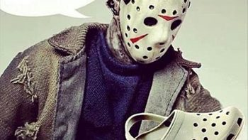 I love it – Jason Voorhees and Crocs