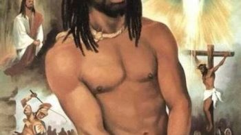 Black Jesus went to jail for you