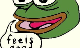 Pepe Feels Good Man