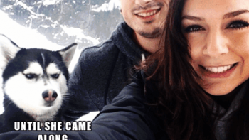 Everything was going fine – Until she came along – Husky
