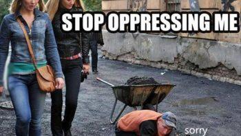 Stop oppressing me – Feminism