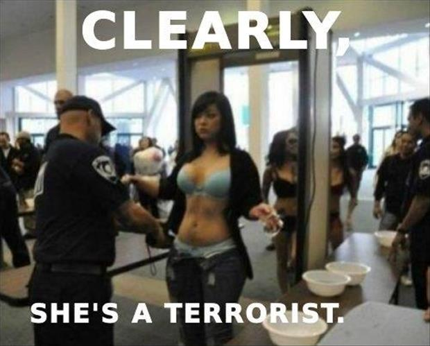 Clearly – She is a terrorist