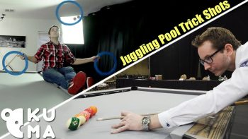 Combine Juggling And Pool Trick Shots And You Get One Sick Video