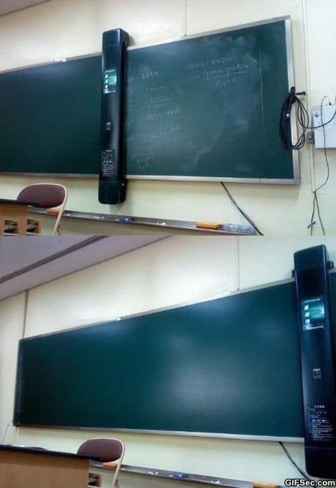 awesome-blackboard-cleaner