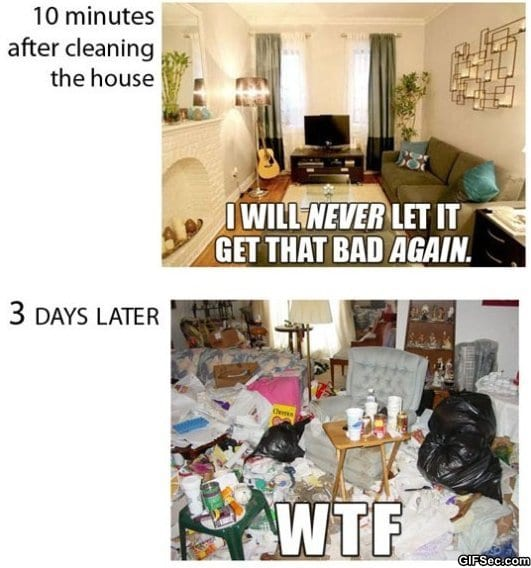 Every time I clean the house_1 every time i clean the house viral viral videos