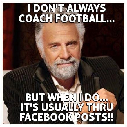 For wiseass football fans