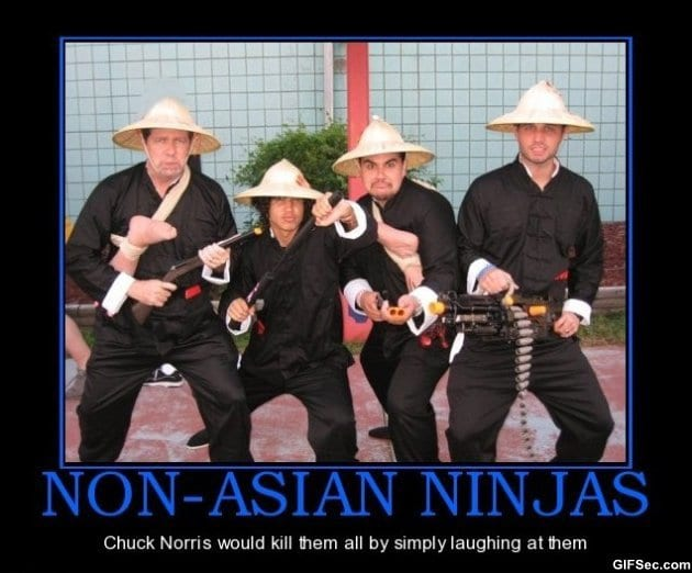 motivational-pictures-chuck-norris-vs-ninjas