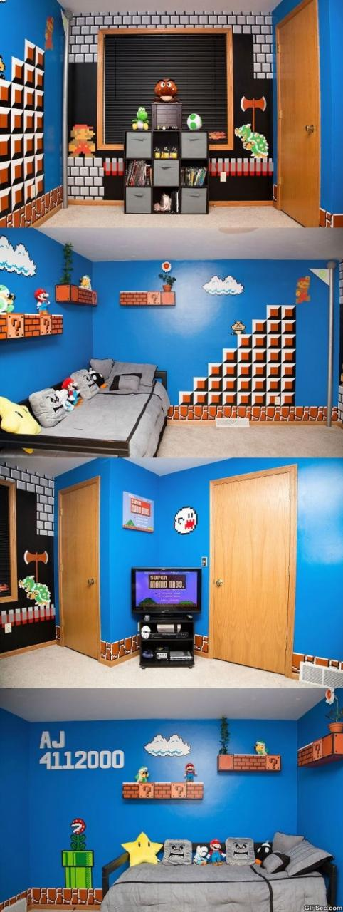 Super Mario Themed Room MEME
