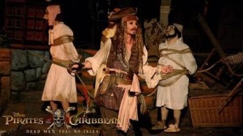 Kids Get A Surprise Visit From Jack Sparrow