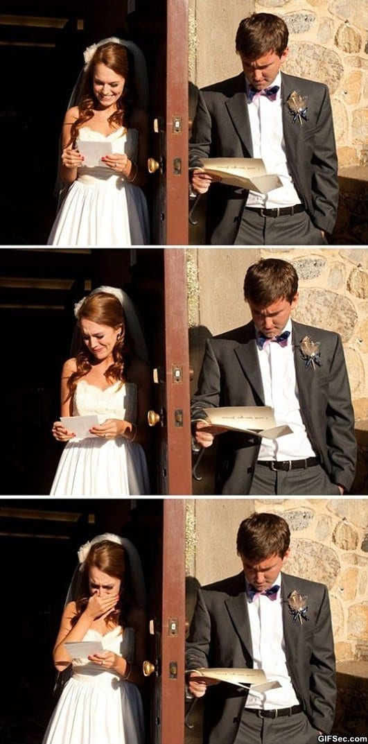 reaction-to-love-letters-before-the-wedding
