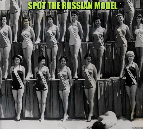 Russian Models MEME