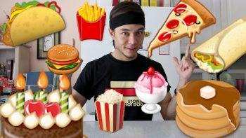 Food Emoji Come To Life