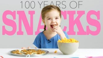 Kids Try 100 Years Of Party Snacks