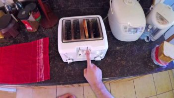 Make Your Own Buttered Side Down Toaster