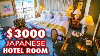 Inside A $3000 Japanese Hotel Room