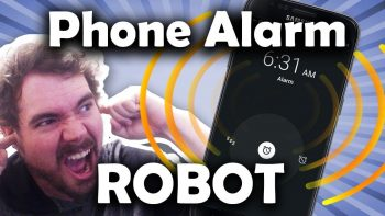 Phone Alarm Robot
