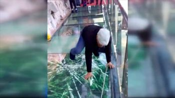 The Glass Walkway That Gets Your Heart Rate Up