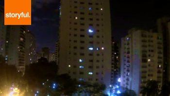 São Paulo Neighborhood Erupts In Cheers When Brazil Scores